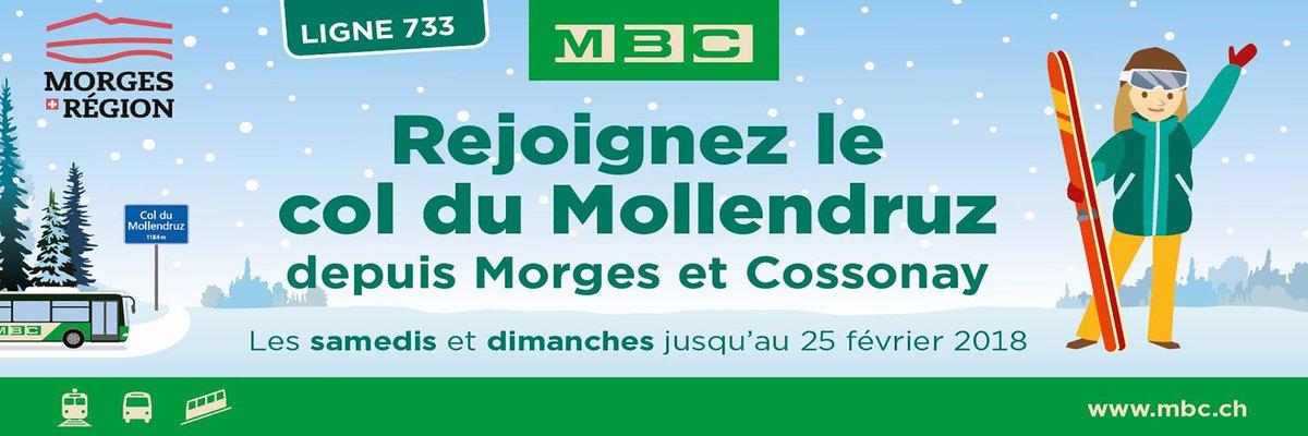 Les week-ends dès le 22 décembre rendez-vous au Mollendruz avec les bus MBC